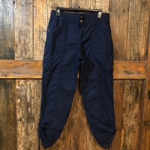 Style & Co., 8, Navy Blue Cargo Pants